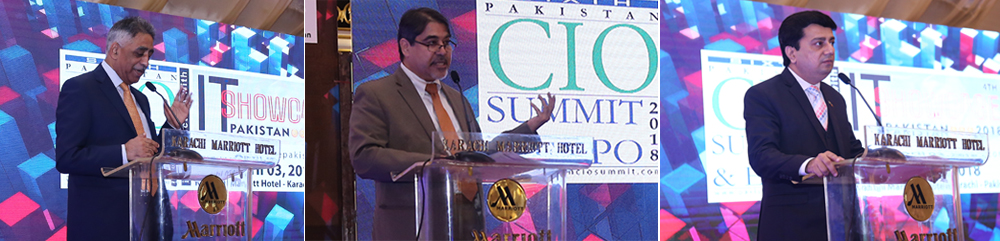 IBA-CICT Participation as Exclusive Academic Strategic Partner in 6th Pakistan CIO Summit