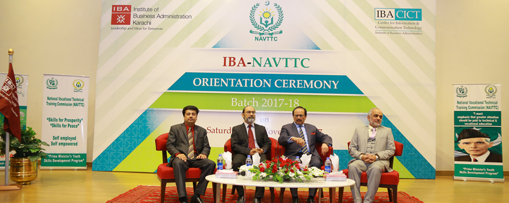 NAVTTC Orientation Ceremony Batch 2017-2018