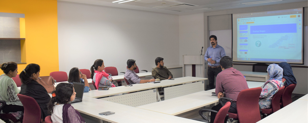 Guest Speaking Session with Mr. Yasir Ahmed, Senior Product Specialist from Foodpanda