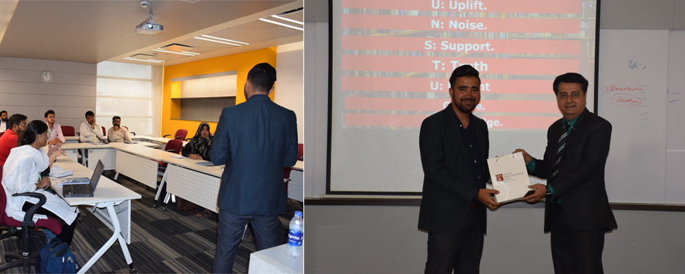 Guest Speaking Session with Mr. Samad Abbas, Founder of T&CS
